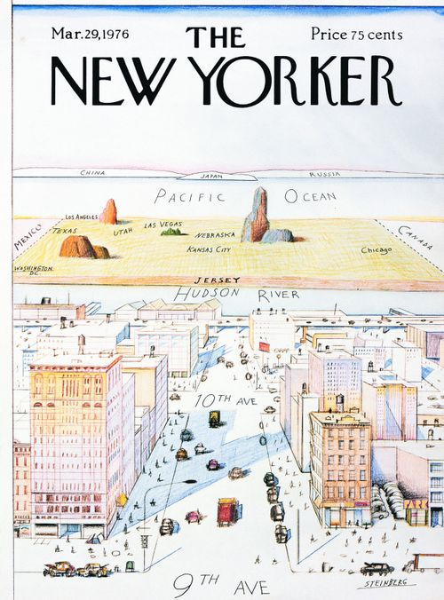 New-york-center-of-the-universe-new-yorker-cover-steinberg1