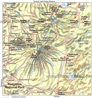 Tongariro-national-park-map