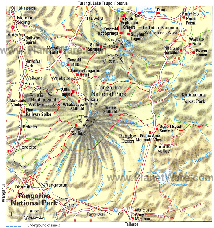 Tongariro-national-park-map