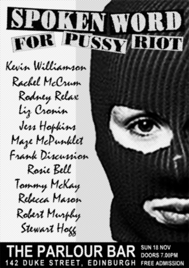 Spoken Word For Pussy Riot 6b 900